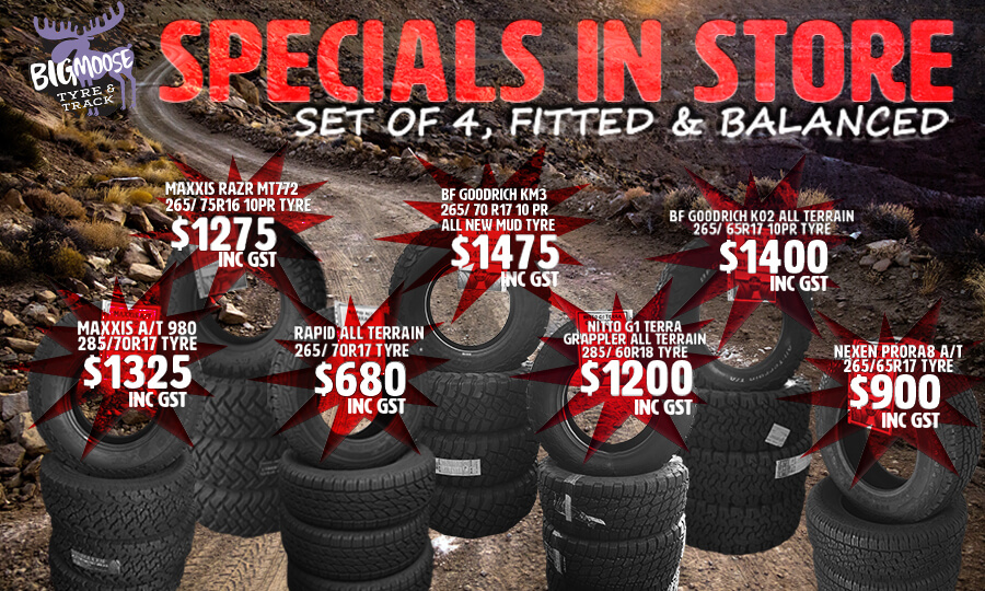 Specials in store