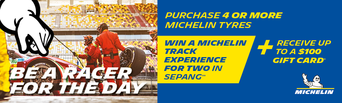 Michelin Special - Win a Track Experience and up to a $100 gift card!