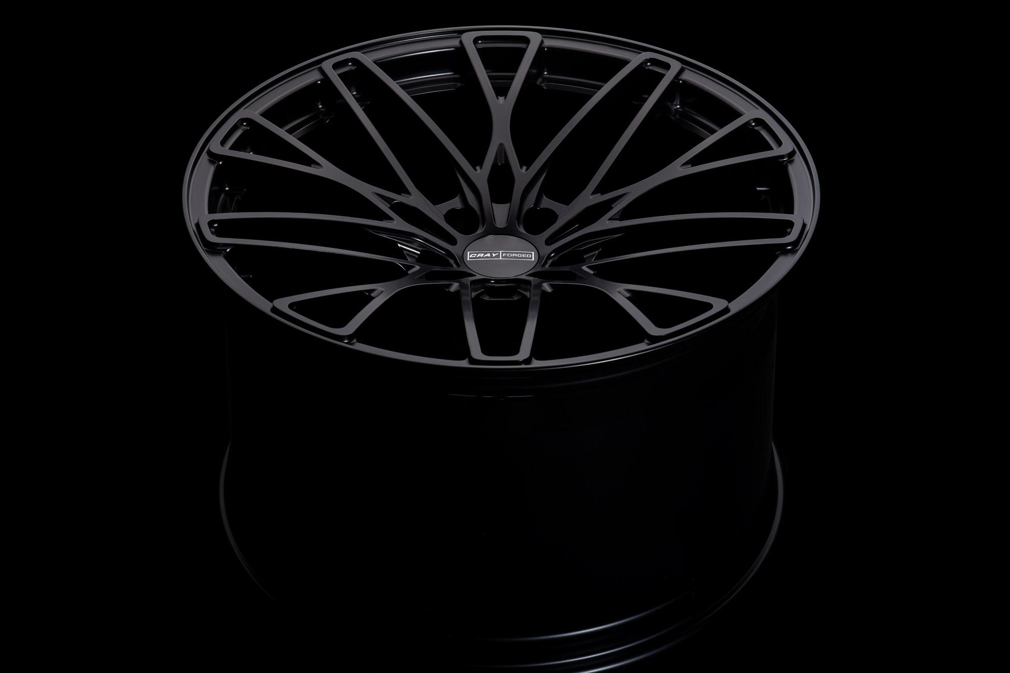 Cray Falcon Forged Corvette wheel