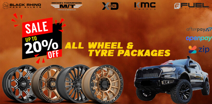 20% off all wheel and tyre packages