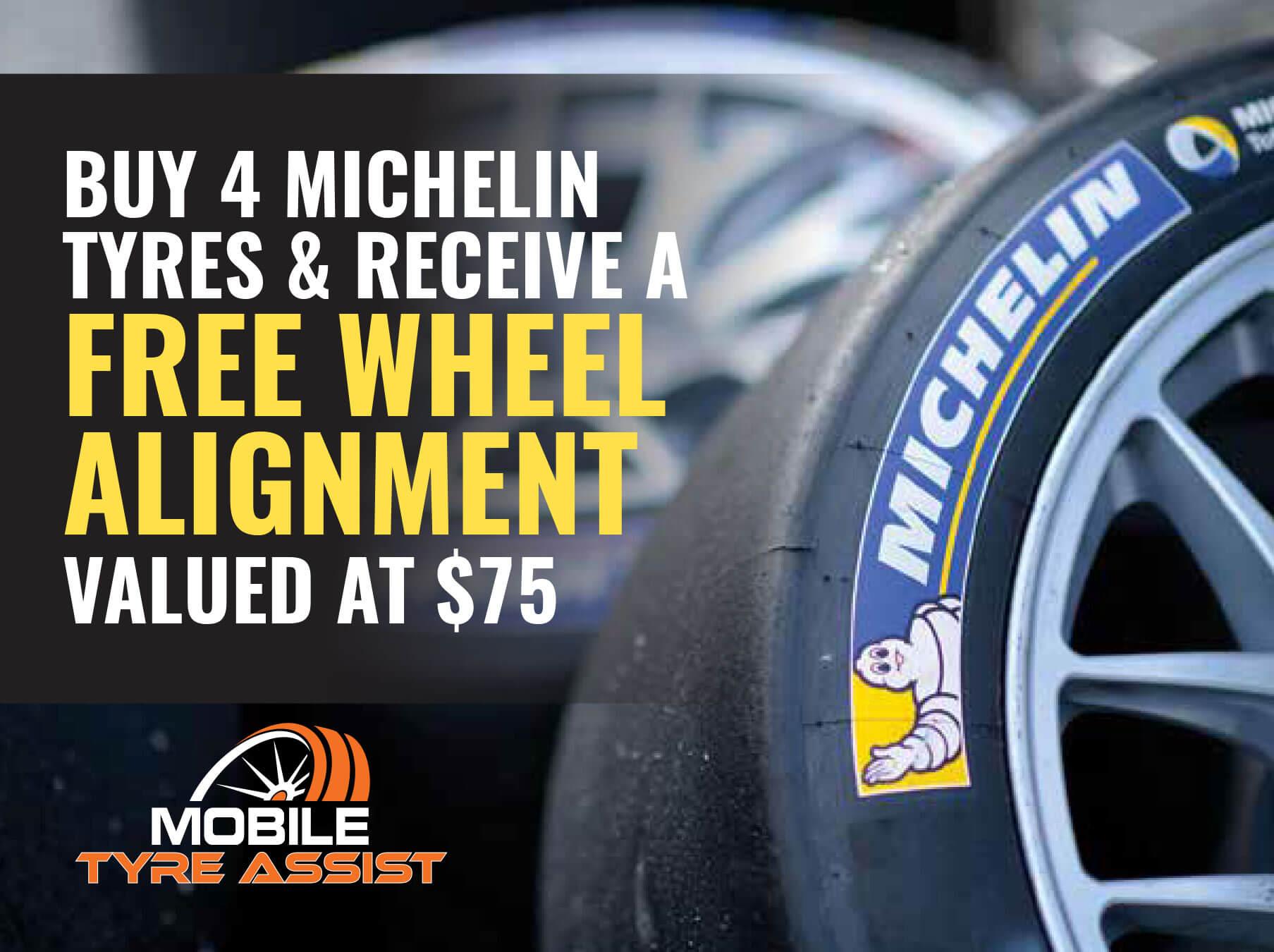 Michelin Wheel Alignment Tyre Assist