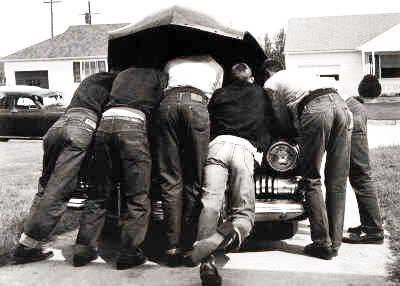 Mechanics on duty