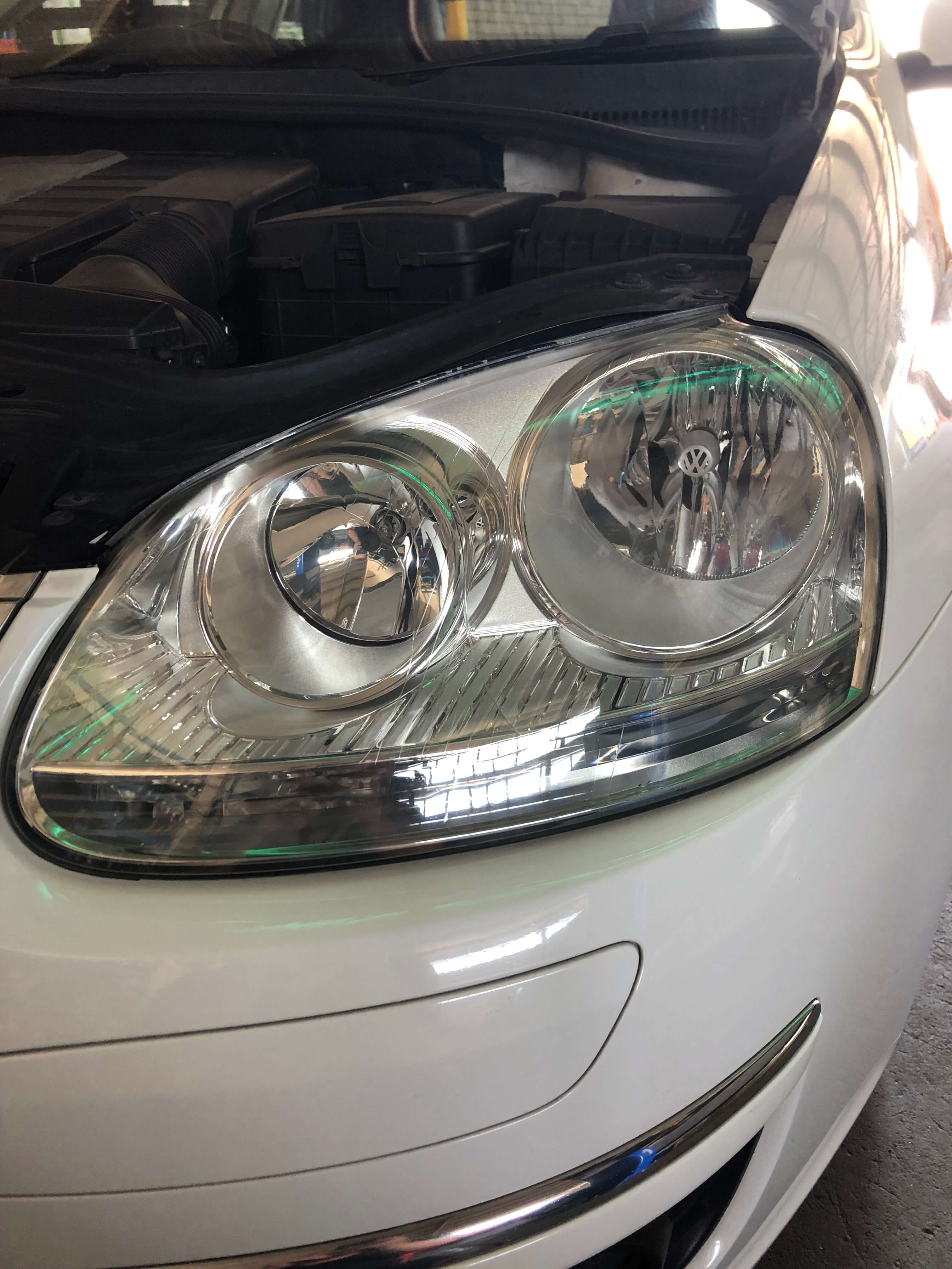Non-clouded headlights