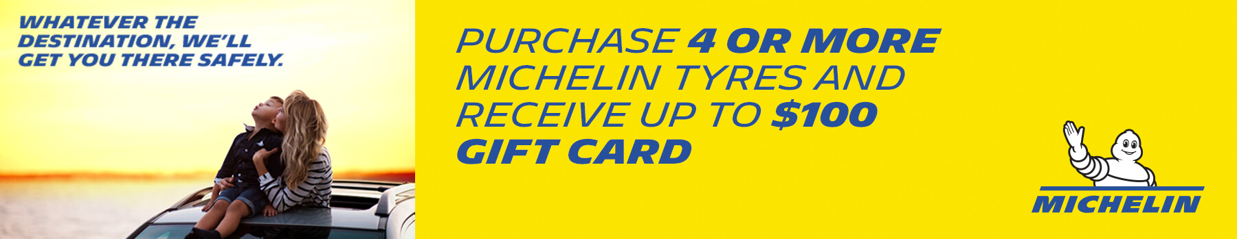 Donnellans - $100 Gift Card Michelin