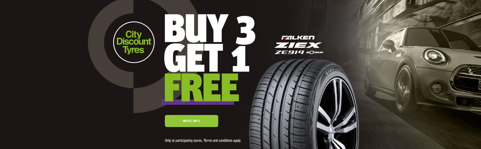 Buy 3 of ZIEX ZE914 and get 1 Free