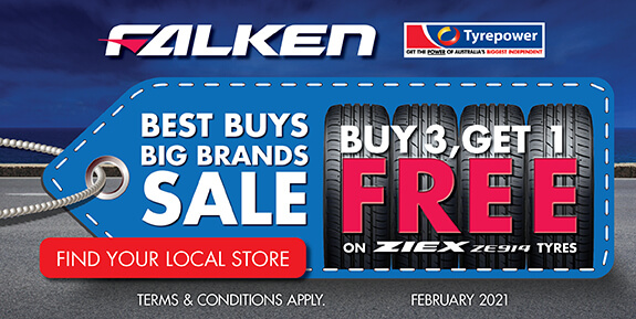 Buy 3, Get 1 Free on ZIEX ZE914 tyres