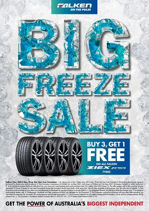 Buy 3 Get 1 Free on all Falken ZIEX ZE914 Tyres