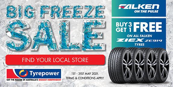 Buy 3 Get 1 Free on all Falken ZIEX ZE914 Tyres