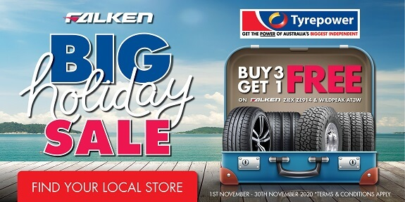 Big Holiday Sale - Buy 3 Get 1 FREE on Falken ZIEX ZE914 & Wildpeak AT3W