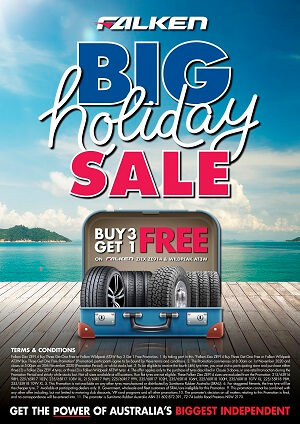 Big Holiday Sale - Buy 3 Get 1 FREE on Falken ZIEX ZE914 & Wildpeak AT3W